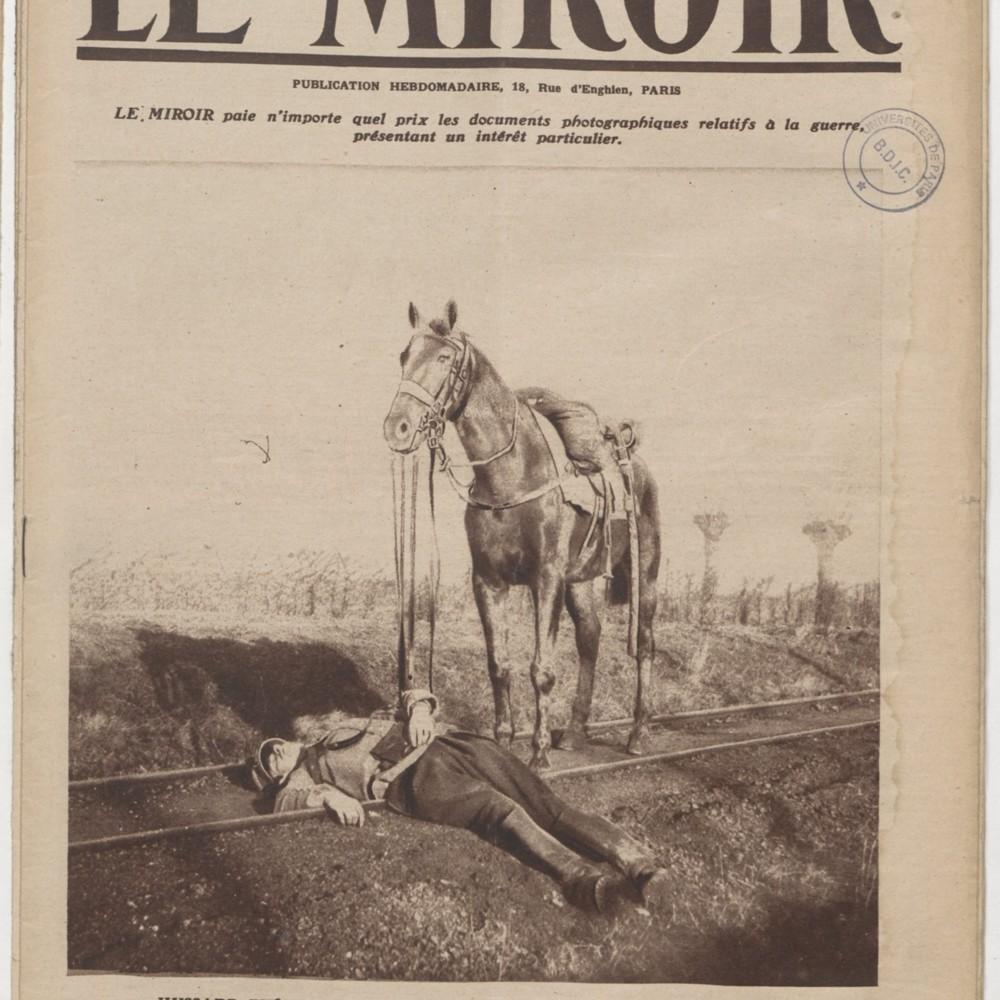 """Illustrations extraite du """"Miroir"""" du 24 janvier 1915"""